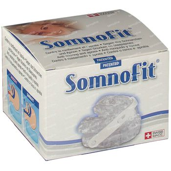 Wellsleep Somnofit Gouttière Anti-Ronflement Sans Latex Thermoformable 1 st