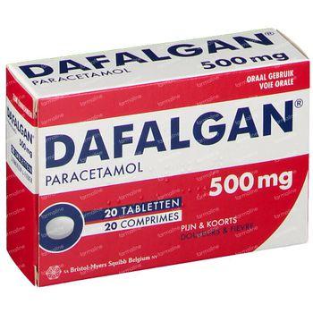 Dafalgan 500mg 20 comprimés
