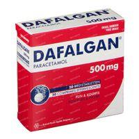 Dafalgan 500 mg Bruistabletten 20  bruistabletten