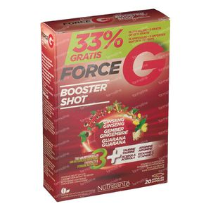 Nutrisante Force G Power Max 20 ampolle