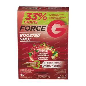 Nutrisante Force G Power Max 20 ampoules