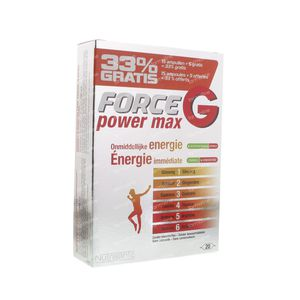 Nutrisante Force G Power Max 20 St Ampoules
