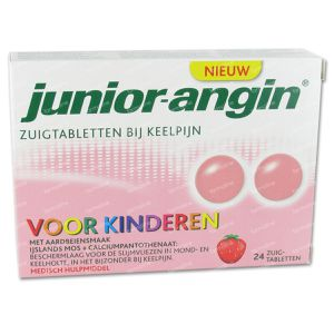 Junior Angin 24 zuigtabletten