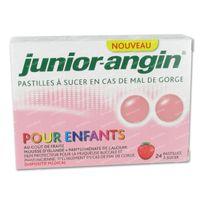 Junior Angin 24  comprimés à sucer