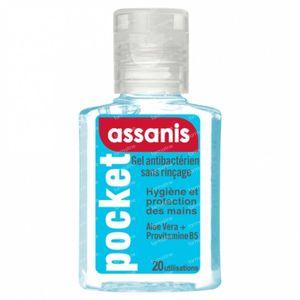 Assanis Antibacteriële Handgel 20 ml