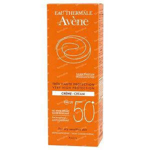 Avène Sun Cream SPF50+ Fragrance Free 50 ml