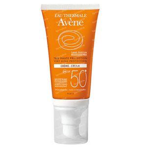 Avène Zonnecreme SPF50+ Zonder Parfum 50 ml