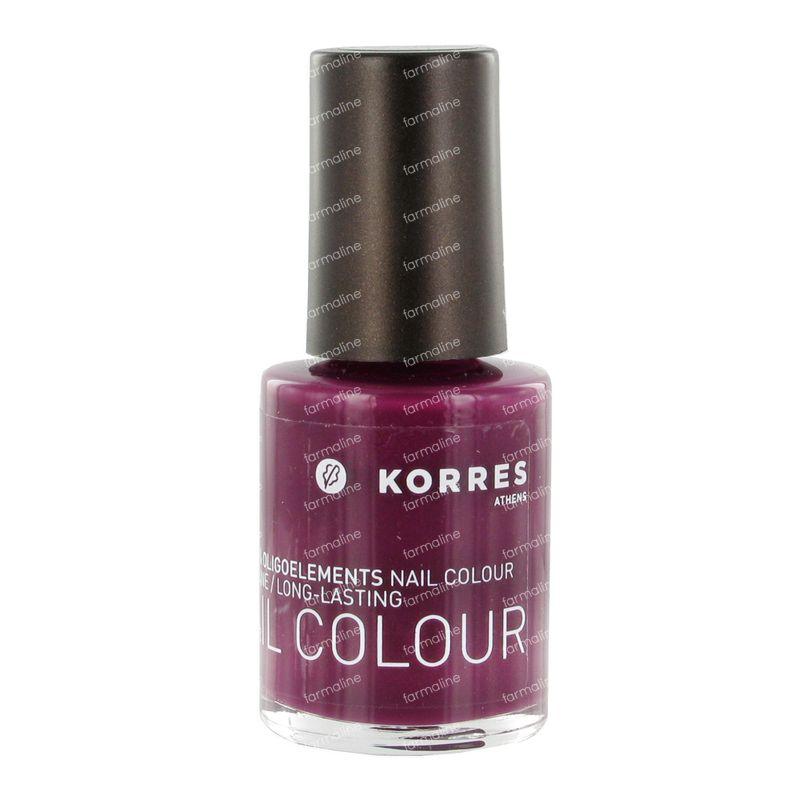 Korres Nail Colour 27 Purple 10 ml order online.