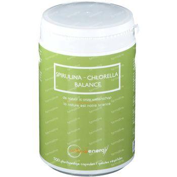 Natural Energy Spirulina - Chlorella Balance 500 capsules