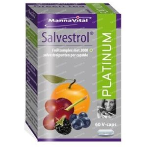 Mannavital Salvestrol Platinum 60 capsules