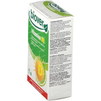 Biover Vitamine D3 45 capsules