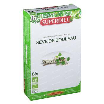 Superdiet Sève de Bouleau Bio 20x15 ml
