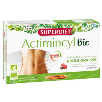 Superdiet Actimincyl Bio 20x15 ml