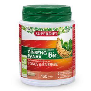 Superdiet Ginseng Bio 150 capsules