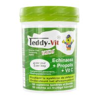 Teddy-Vit Vitamine C/Echinacea/Propolis Beertjes 50 st