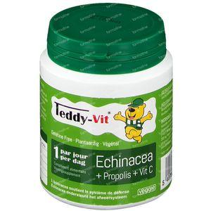 Teddy-Vit Vitamine C/Echinacea/Propolis Beertjes 50 stuks
