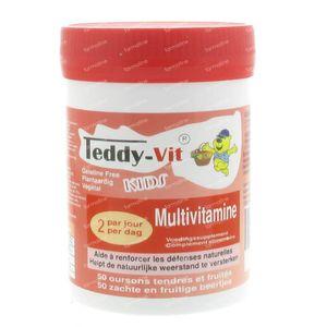 Teddy-Vit Multivitamines 50 stuks