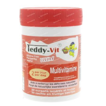 Teddy-Vit Multivitamines 50 st