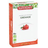 Superdiet Granaatappel Bio 20x15 ml