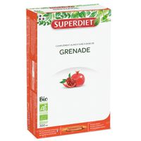 Superdiet Grenade Bio 20x15 ml