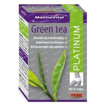 Mannavital Green Tea Platinum 60 st