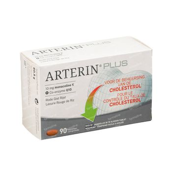 Arterin Plus Contrôle Cholestérol 90 comprimés