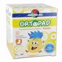 Ortopad Happy Junior Pansements Yeux 50 st