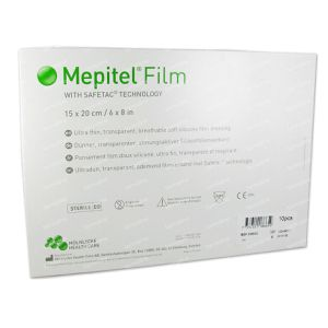 Mepitel Film 15cm x 20cm 296600 10 pieces