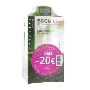 Fytostar Egcg Line Fatburner Duo + Calorie Counter 1 item