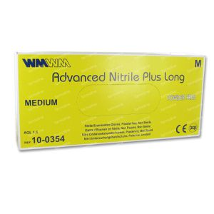 Advanced Powder-Free Nitrile Gloves 100 pieces