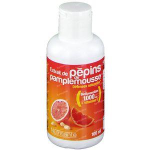 Nutrisanté Extrait Pepins Pamplemousse 1000Mg 100 ml