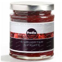 Prodia Broodbeleg Extra 4 Vruchten 215 g