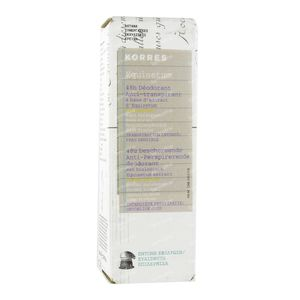 Korres KB Equisetum Deodorant Anti-Perspirant 48h zonder Parfum 30 ml