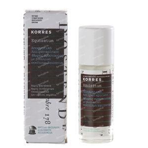 Korres KB Equisetum Déodorant Anti-Transpirant 48h avec Parfum 30 ml flacon
