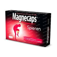 Magnecaps Muscles Magnesium 450mg + Vit B6 30  capsules