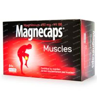Magnecaps Muscles Magnésium 450mg & Vit B6 84  capsules