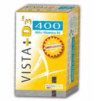 Vista- D3 400 Junior 120 comprimés sublinguaux