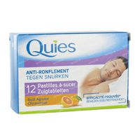 Quies Anti-Snurk Agrume 12 st