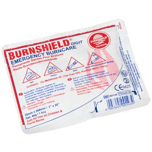Covarmed Burnshield Finger 2.5 X 50 Cm 1 item