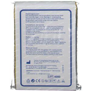 Covarmed Rescue Blanket Gold/Silver 220x160 cm 1 item
