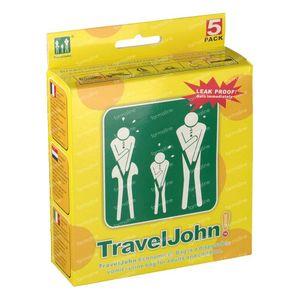 Travel John Puke Bags 5 Pieces 800 ml