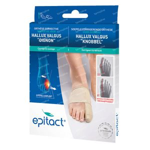 Epitact Hallux Valgus Orthese Correct Small 1 pièce