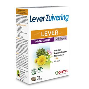Ortis Methoddraine Lever-Zuivering 60 tabletten