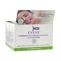 Eyeye Compresses Oculaires Au Concombre 24 st