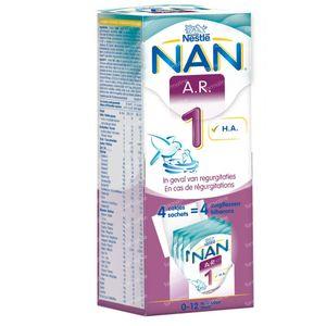 Nestlé NAN A.R. 1 4x26,2 g zakjes