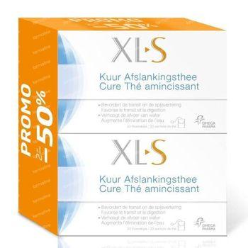 XLS Cure Thé Amincissant Duopack 40 sachets