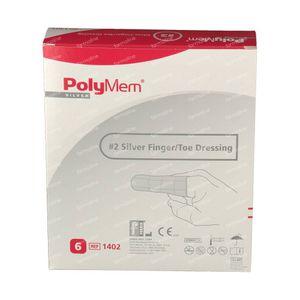 Polymem Silver Finger/Toe M 1402 6 pieces