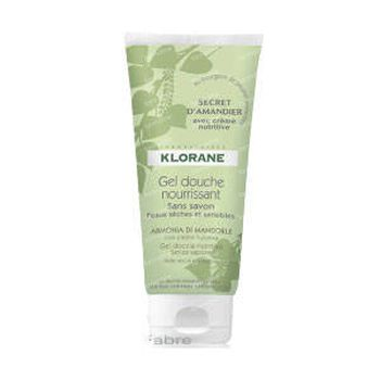 Klorane Gel Douche Nourissant Secret D'Amandier 200 ml