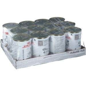 Royal Canin Hond Gastro Intest Hepatic 12x420 g