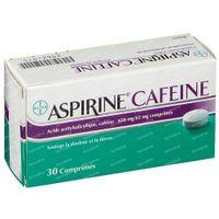 Aspirine Cafeine 30  tabletten